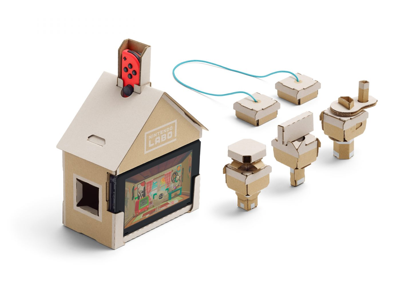 Nintendo Labo Toy-Con Monster House