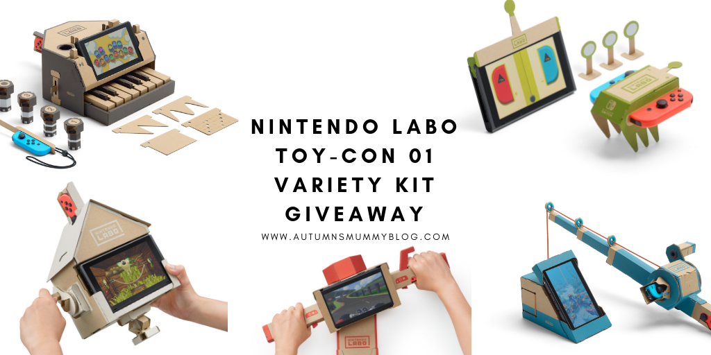 Nintendo Labo Toy-Con 01 Variety Kit Giveaway
