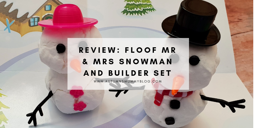 Review: Floof Mr & Mrs Snowman and Builder Set