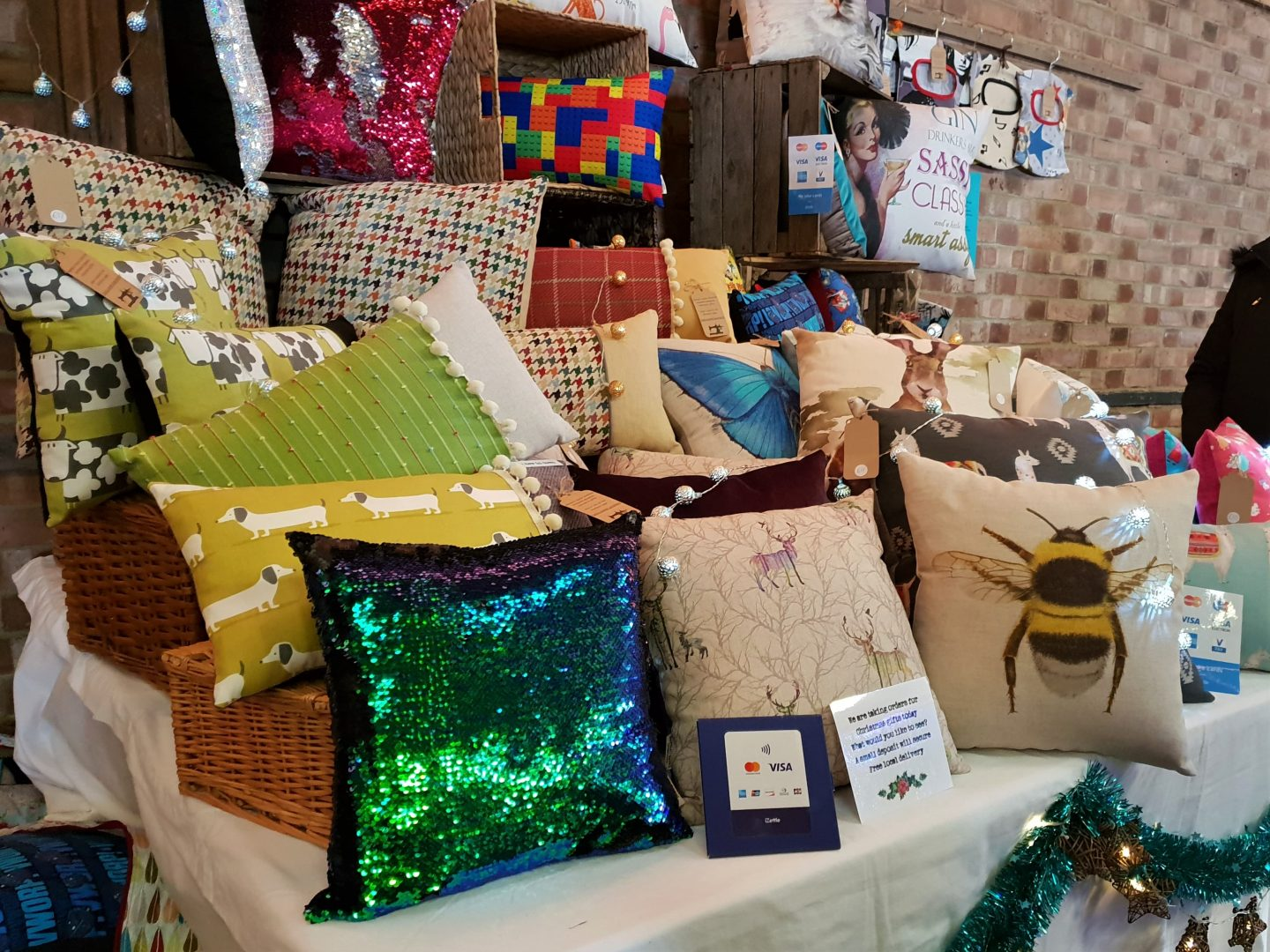 Cushions made in Kent