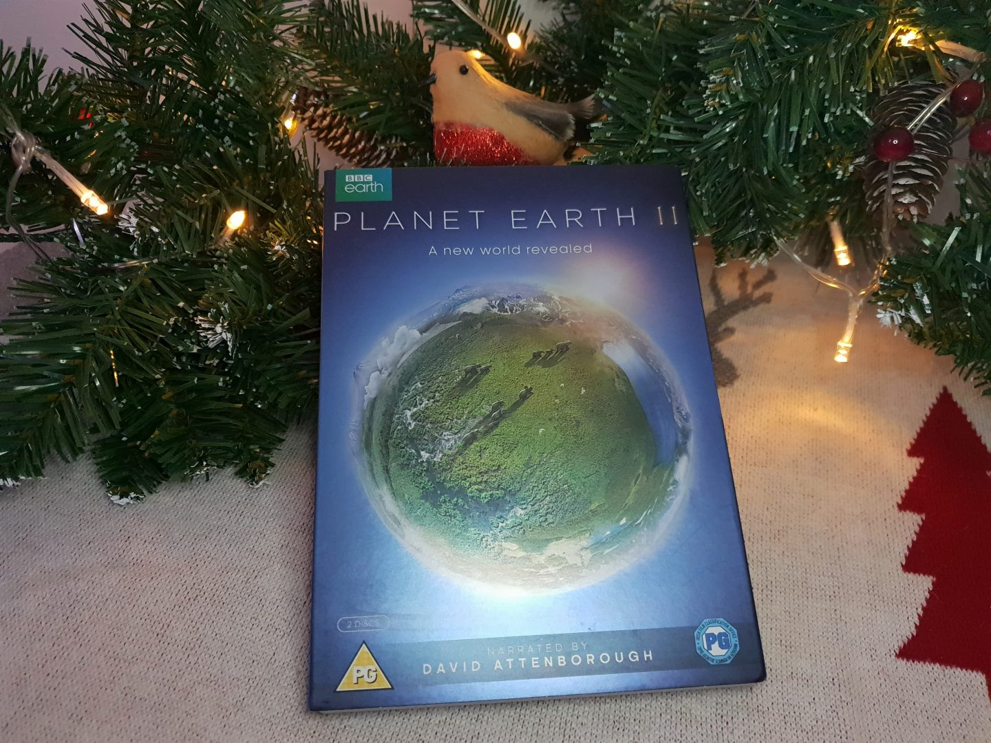 BBC Earth Planet Earth II DVD, David Attenborough