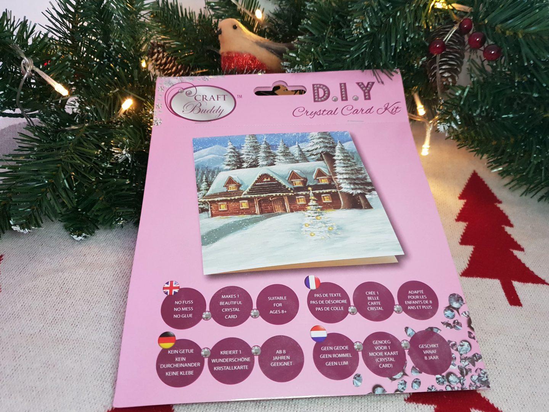 Crystal Christmas Card Craft Kit