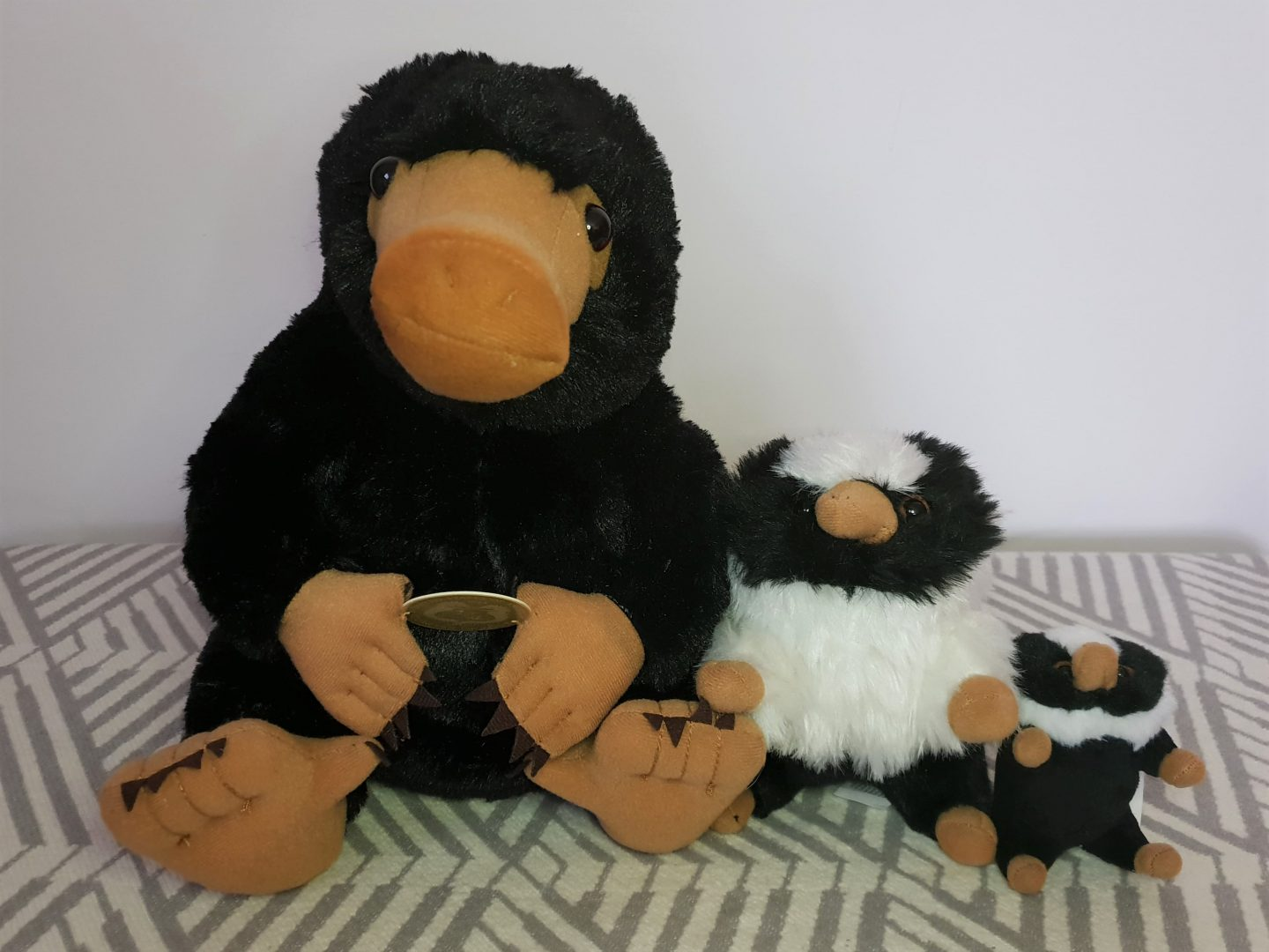 Nifflers plushie toys from Kids at Play