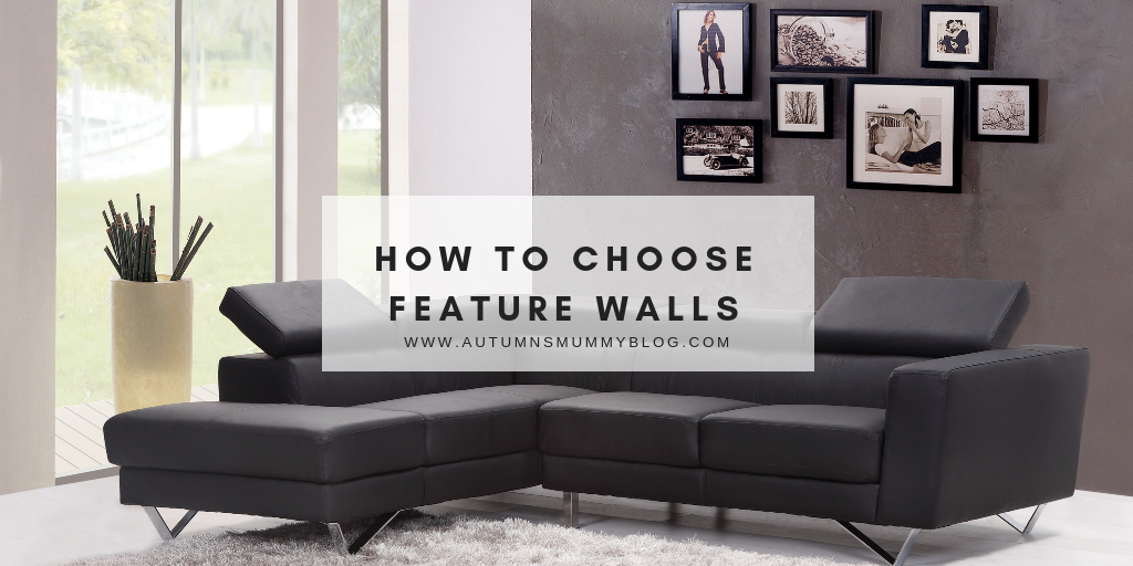How to choose feature walls