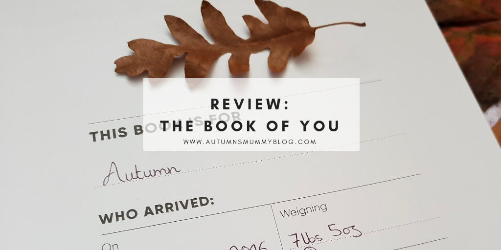 Review: The Book Of You