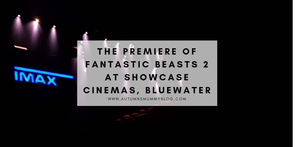 The Premiere of Fantastic Beasts 2 at Showcase Cinemas, Bluewater