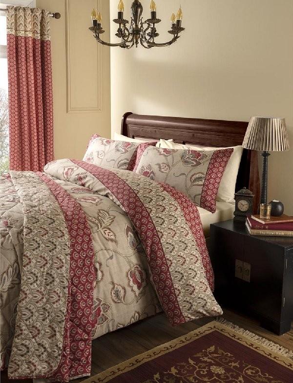 Kashmir bedspread quilt set