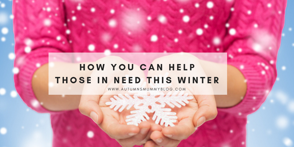 How You Can Help those in Need this Winter