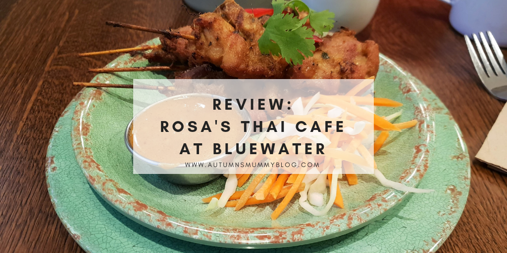 Review: Rosa's Thai Cafe at Bluewater