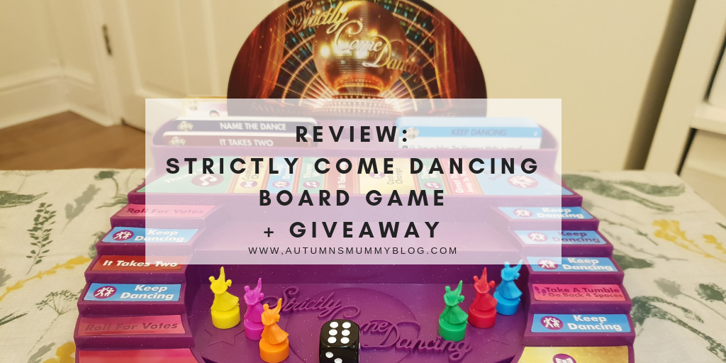 Review: Strictly Come Dancing Board Game