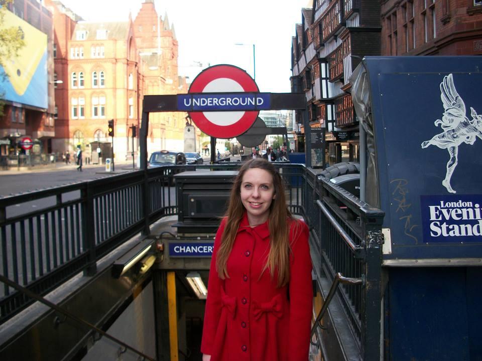 Laura Chancery Underground in London 2014