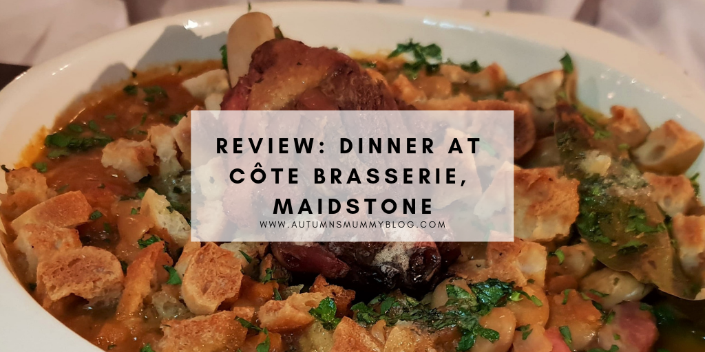 Review: Dinner at Côte Brasserie, Maidstone
