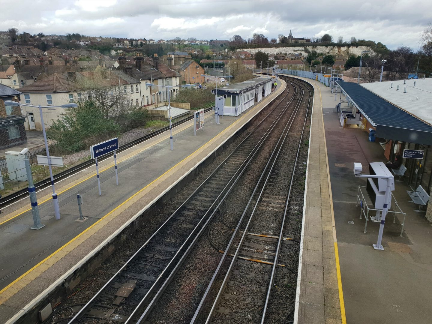 Strood train station