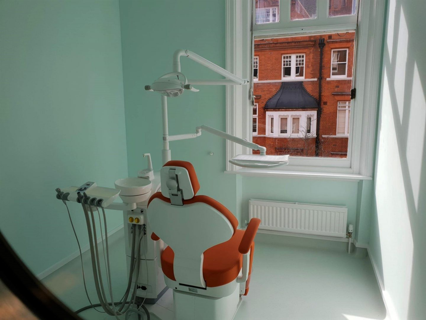 Treatment room at Happy Kids Dental, Chelsea