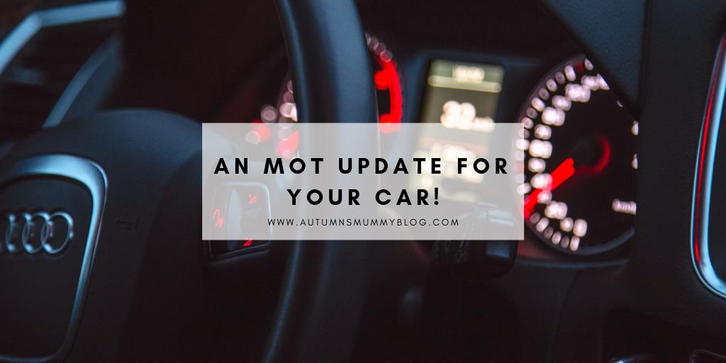 An MOT update for your car!