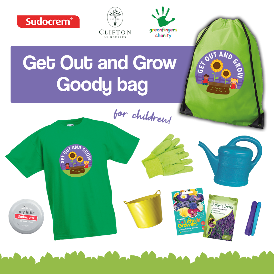 Sudocrem Get Out and Grow Goody Bag Competition Giveaway