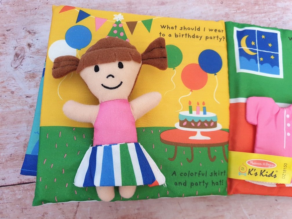 Dress up doll book