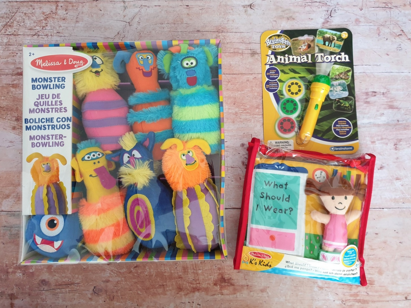 Toys and gifts for a toddler from Wicked Uncle