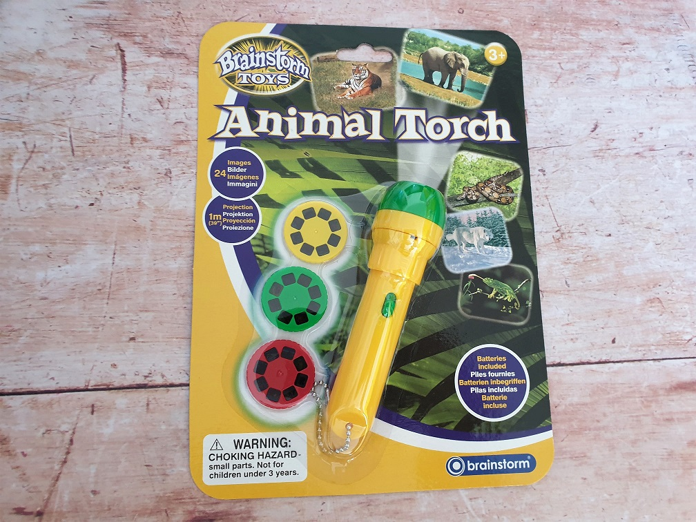 Animal Projector Torch from Wicked Uncle