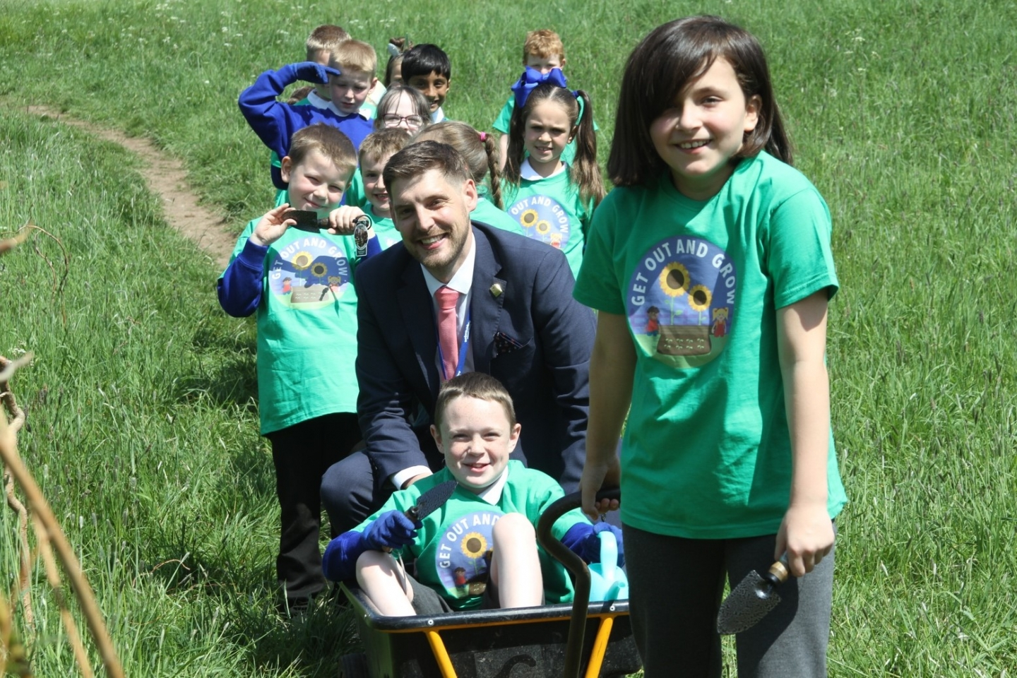 Get Out and Grow school garden campaign