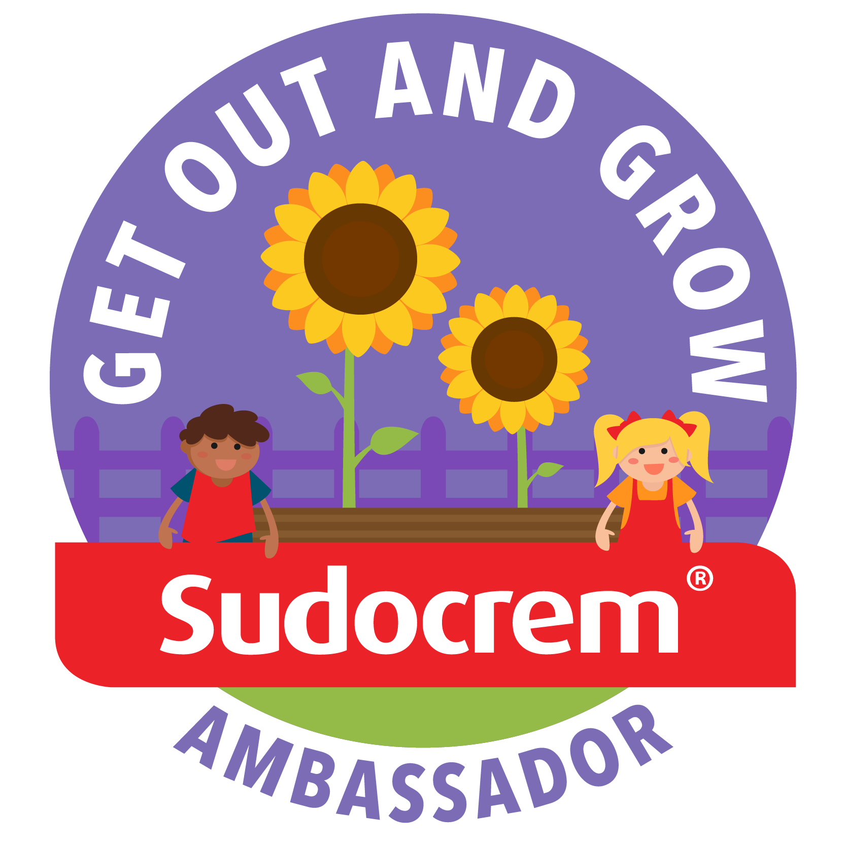 Sudocrem Get Out and Grow Ambassador