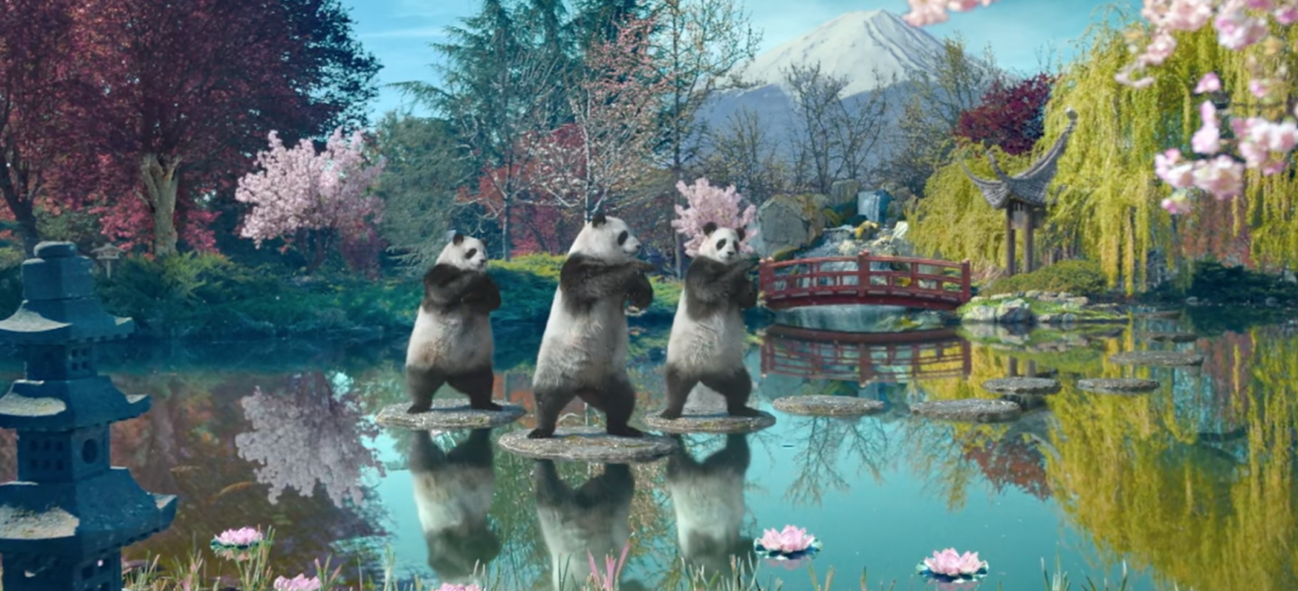 Sudocrem tai chi panda soothing campaign