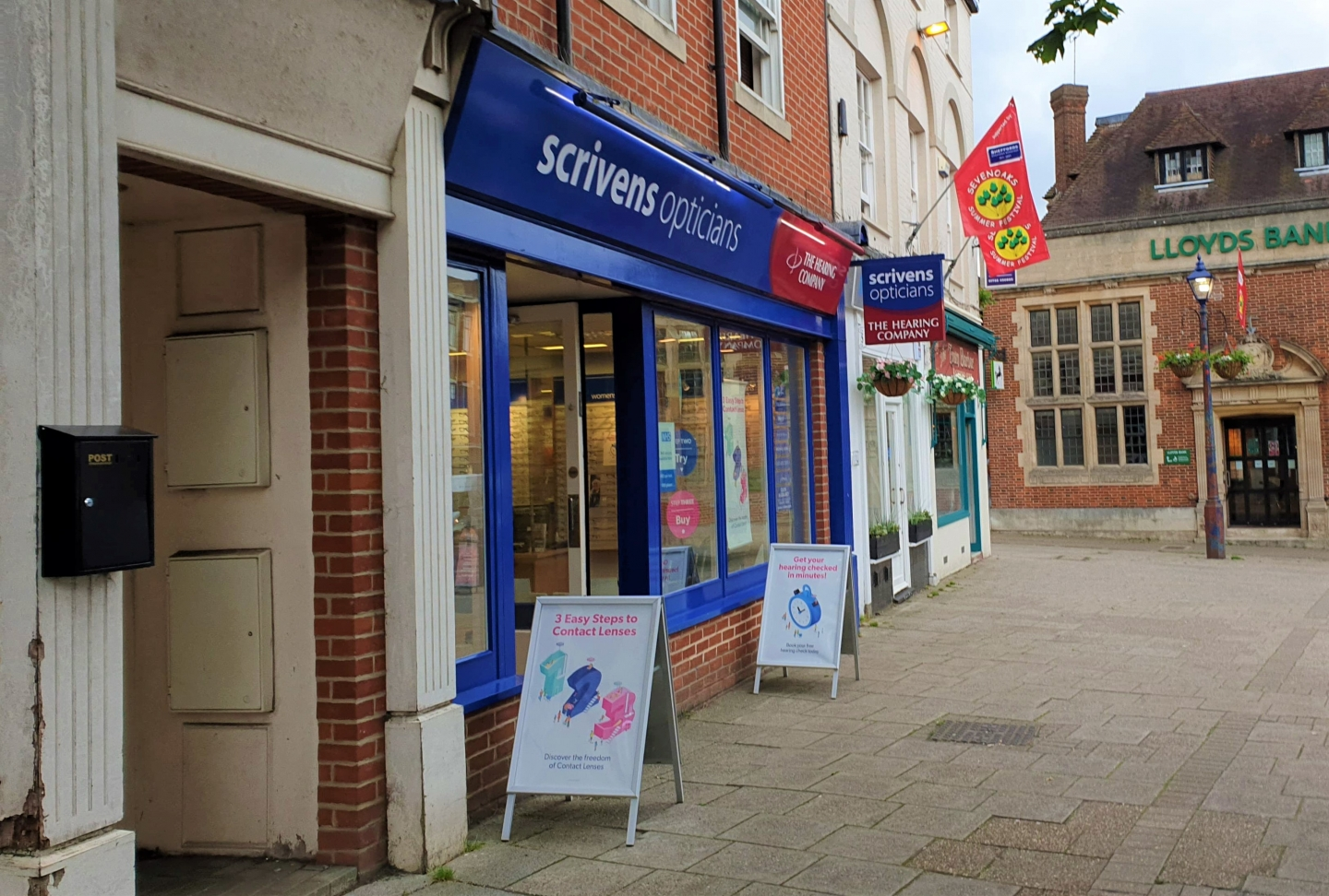 Scrivens Opticians in Sevenoaks Kent