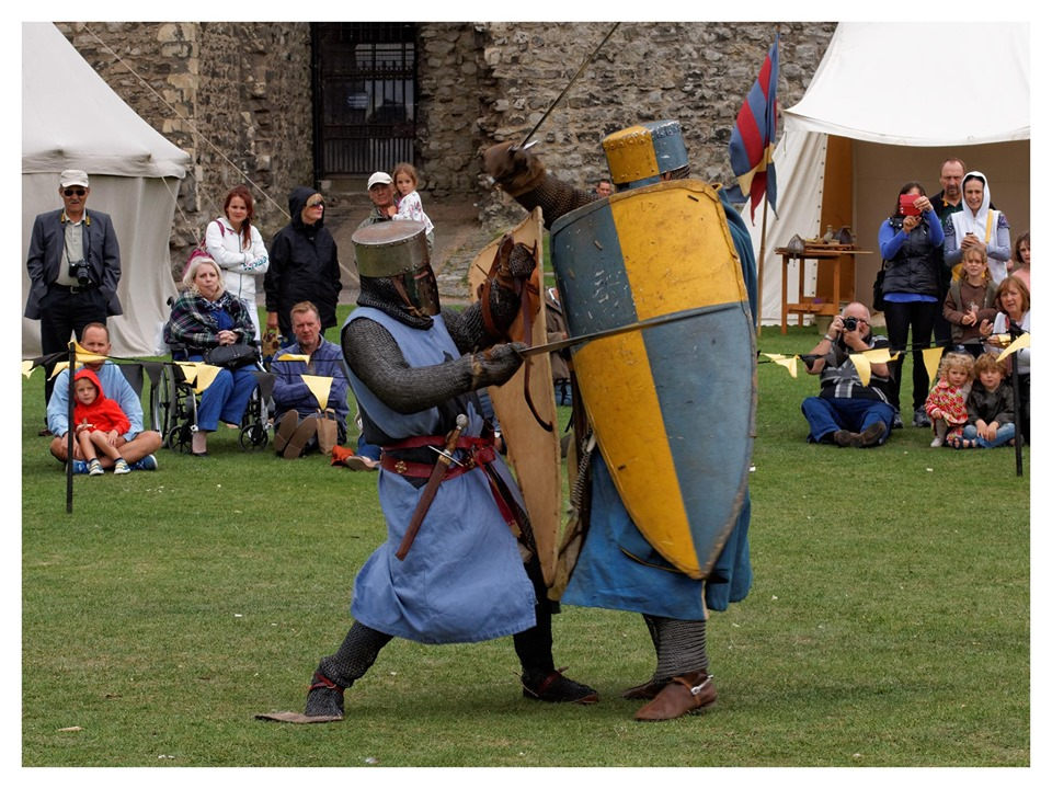 rochester castle medway medieval merriment summer holidays