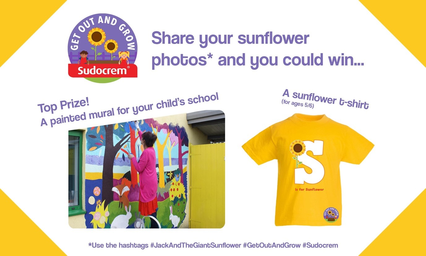 Sudocrem Get Out and Grow Sunflower Giveaway Win