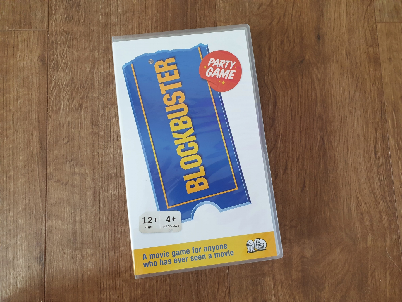 Blockbuster board game video box