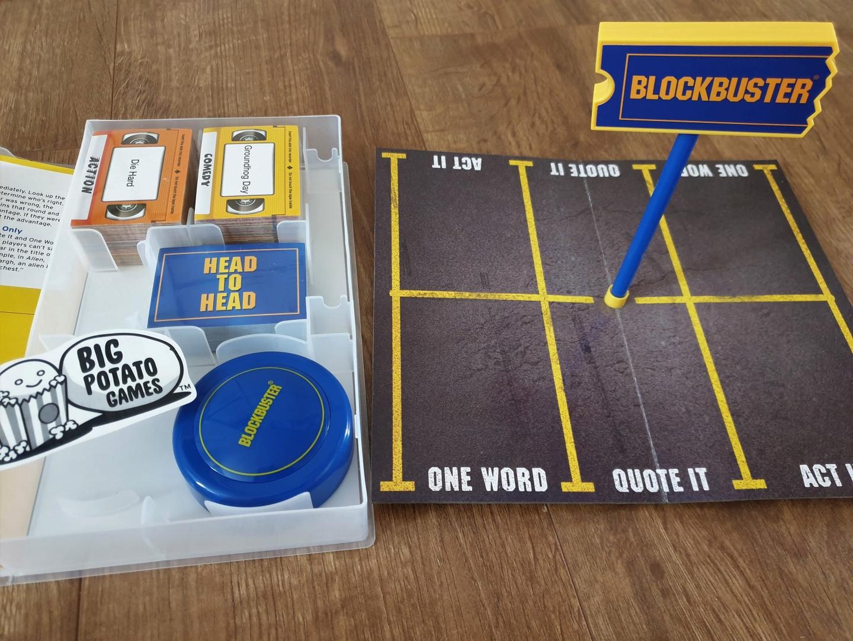 Blockbuster board game parking lot board