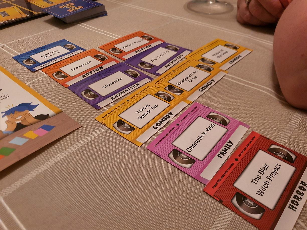 Blockbuster board game cards