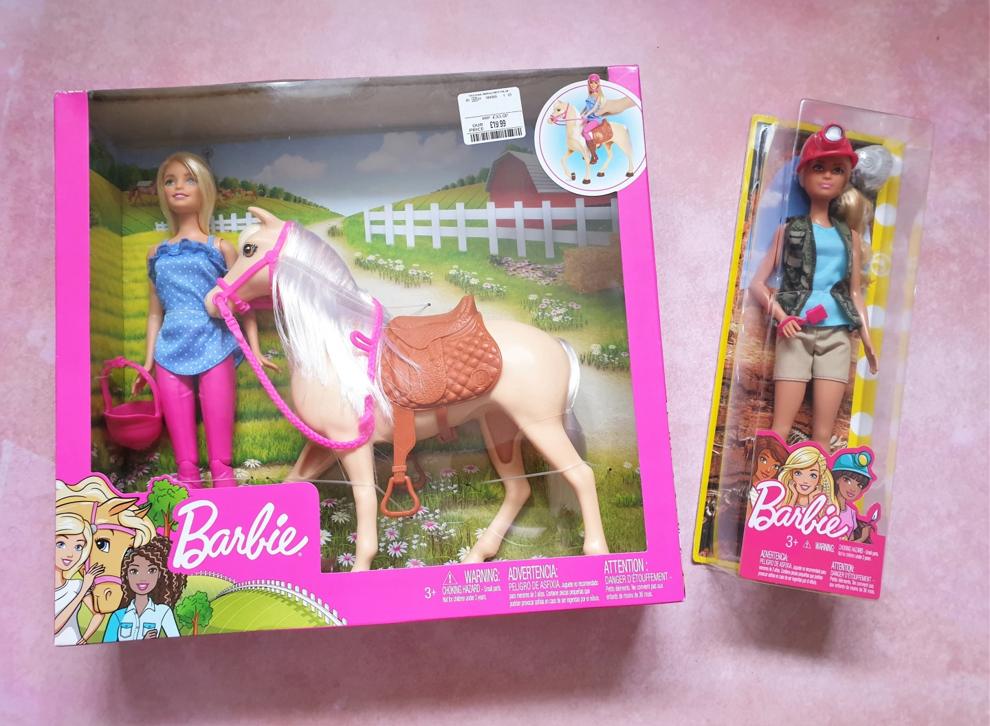 Barbie toys from TK Maxx