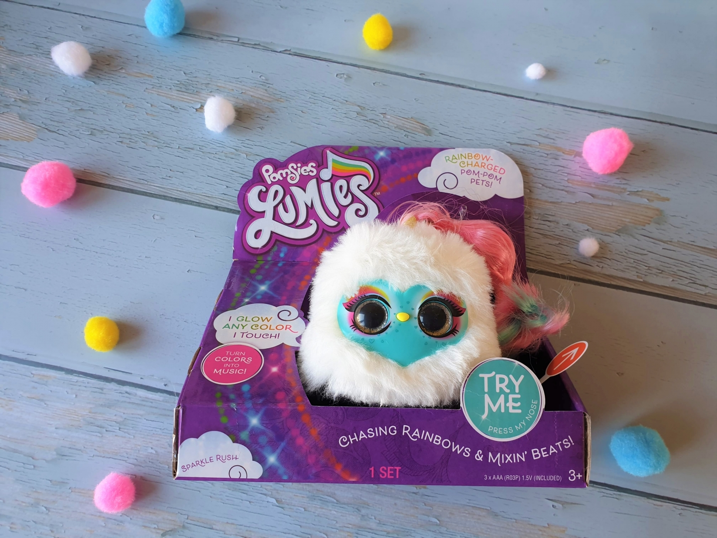Pomsies Lumies Sparkle Rush review