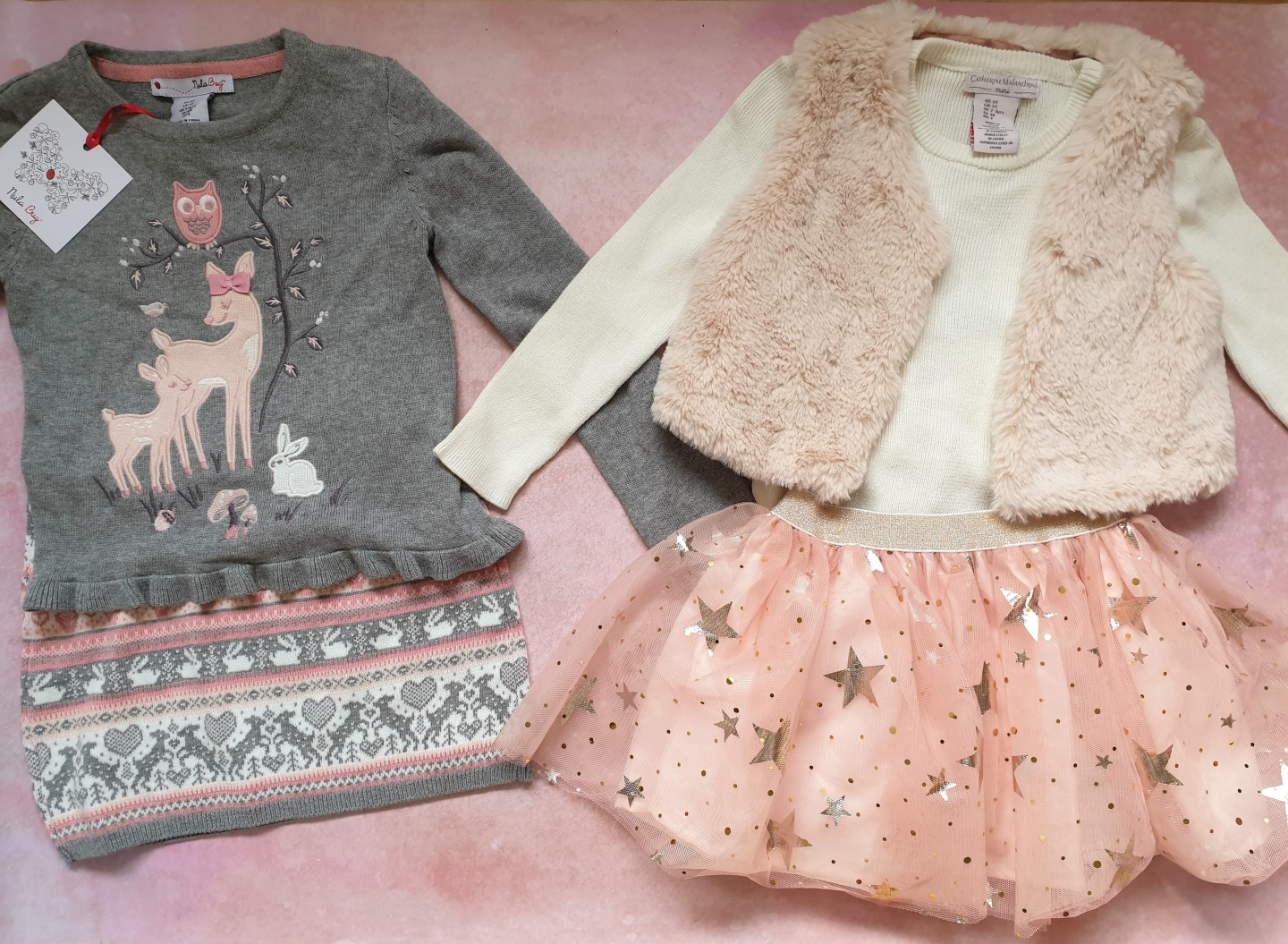 Beautiful girls winter outfits from TK Maxx, Oxford Street