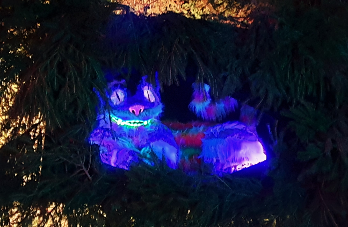 Cheshire cat at Hever castle