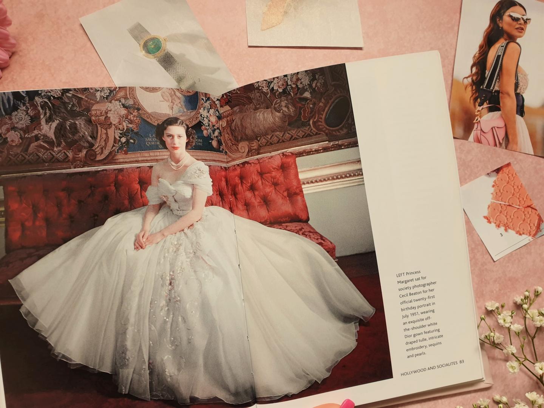 Princess Margaret 21st birthday gown, Little Book of Dior