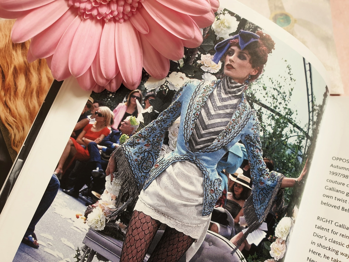 A 1990's John Galliano design for Dior, from The Little Book of Dior