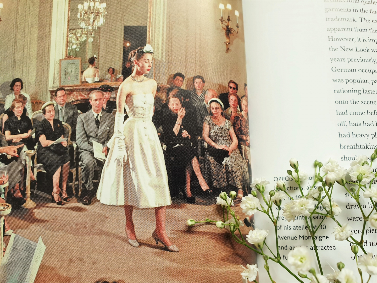 Christian Dior's New Look, excerpt from The Little Book of Dior by Karen Homer