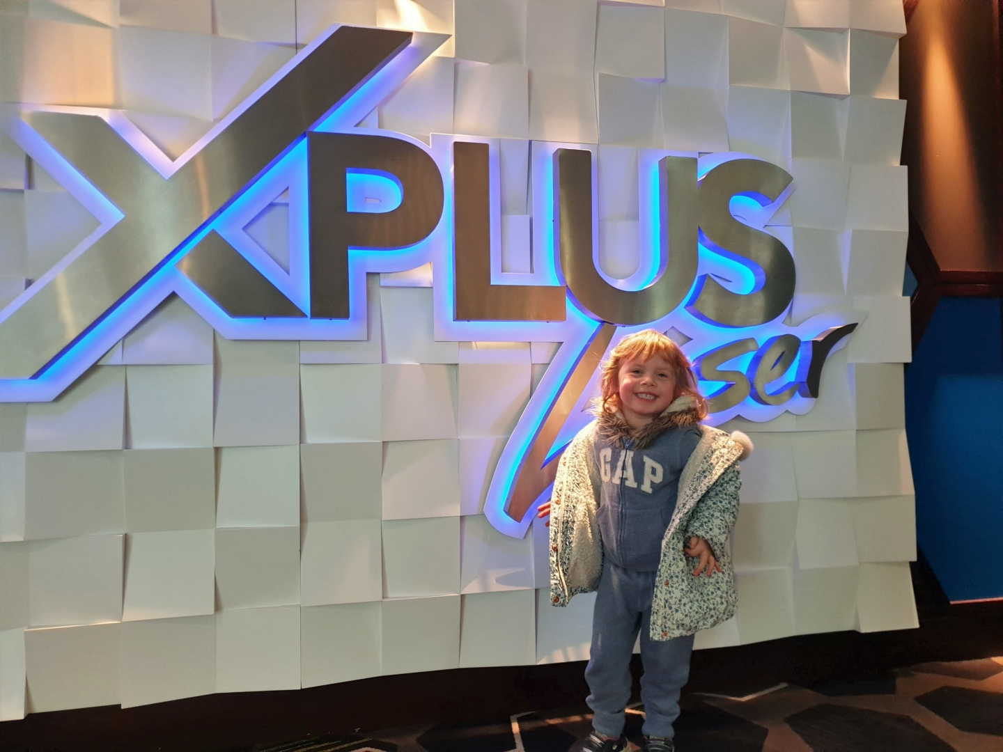 X Plus Laser Showcase de lux cinema Bluewater