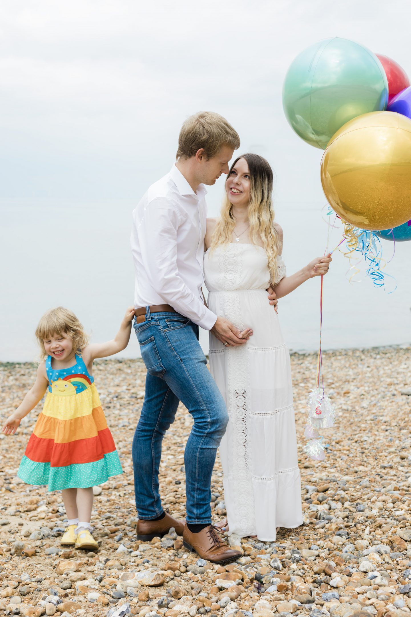 Rainbow baby pregnancy announcement