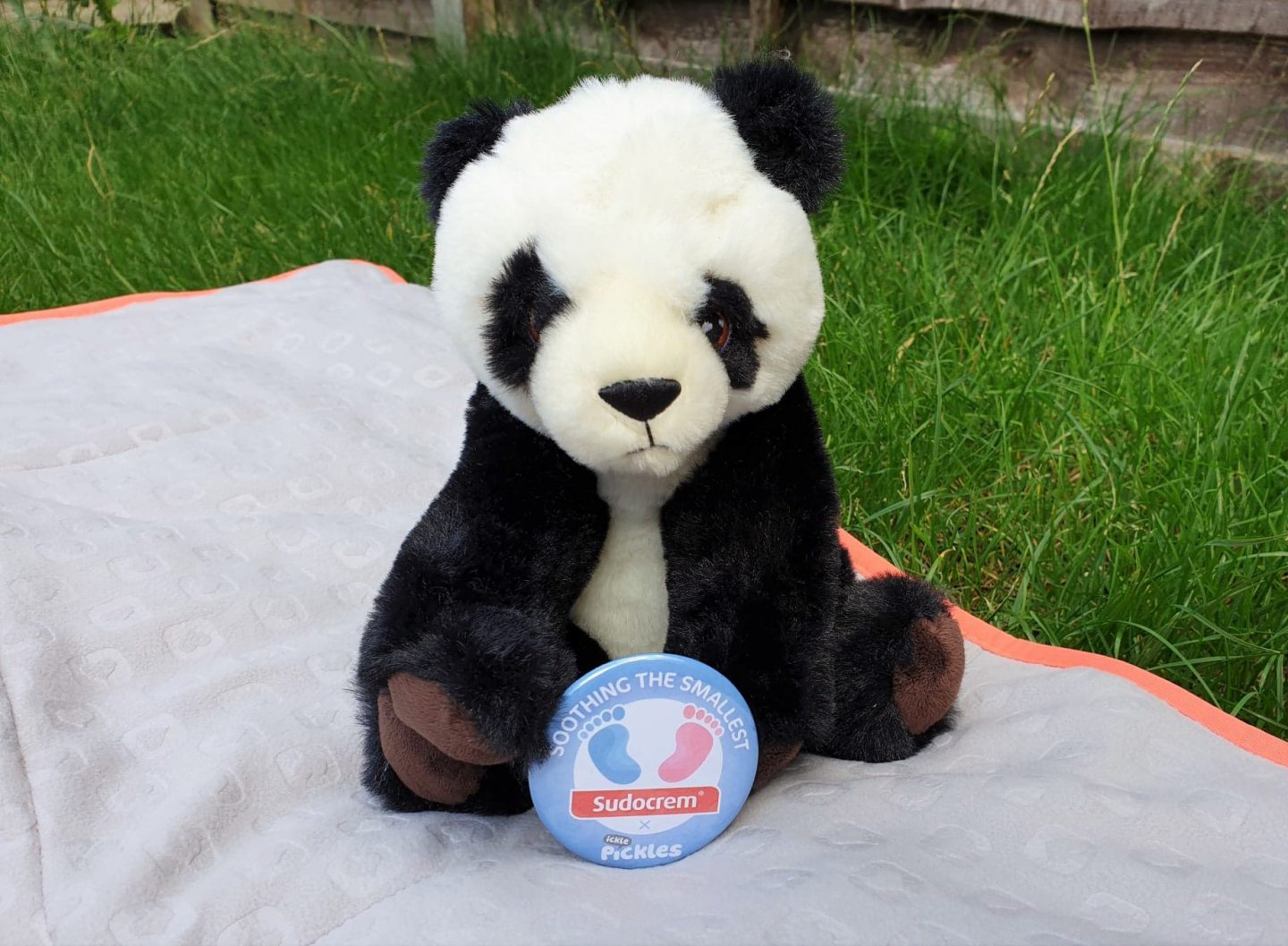 Sudocrem x Ickle Pickles Soothing the Smallest panda