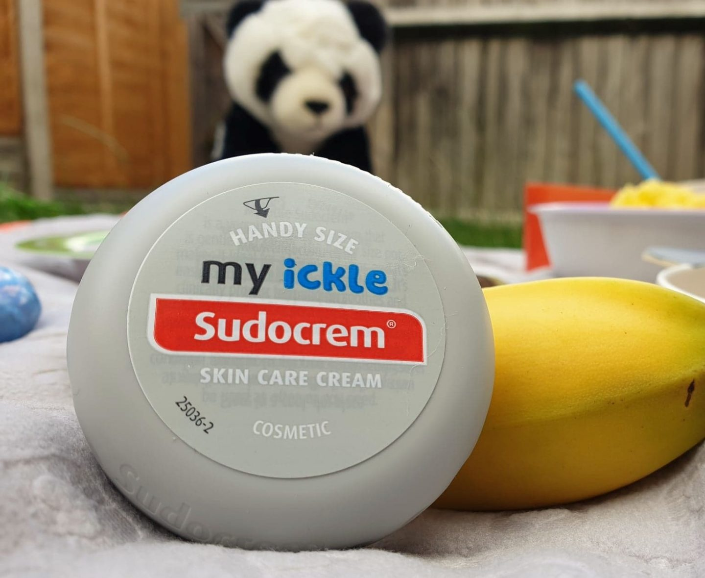 My ickle Sudocrem