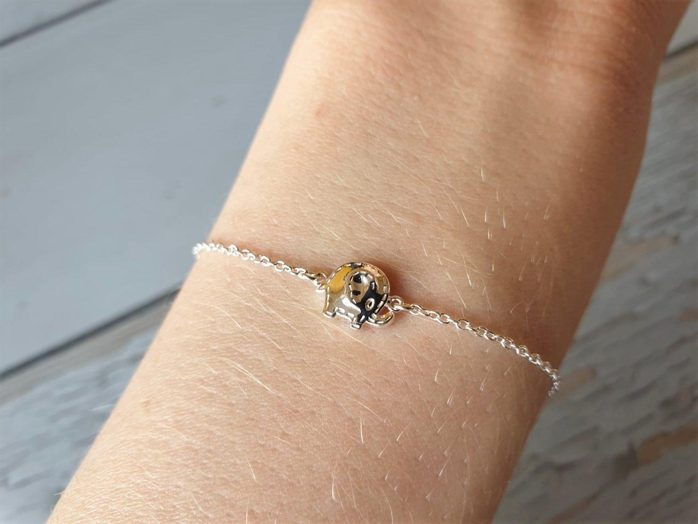 Alder Hey x Wongs silver elephant bracelet