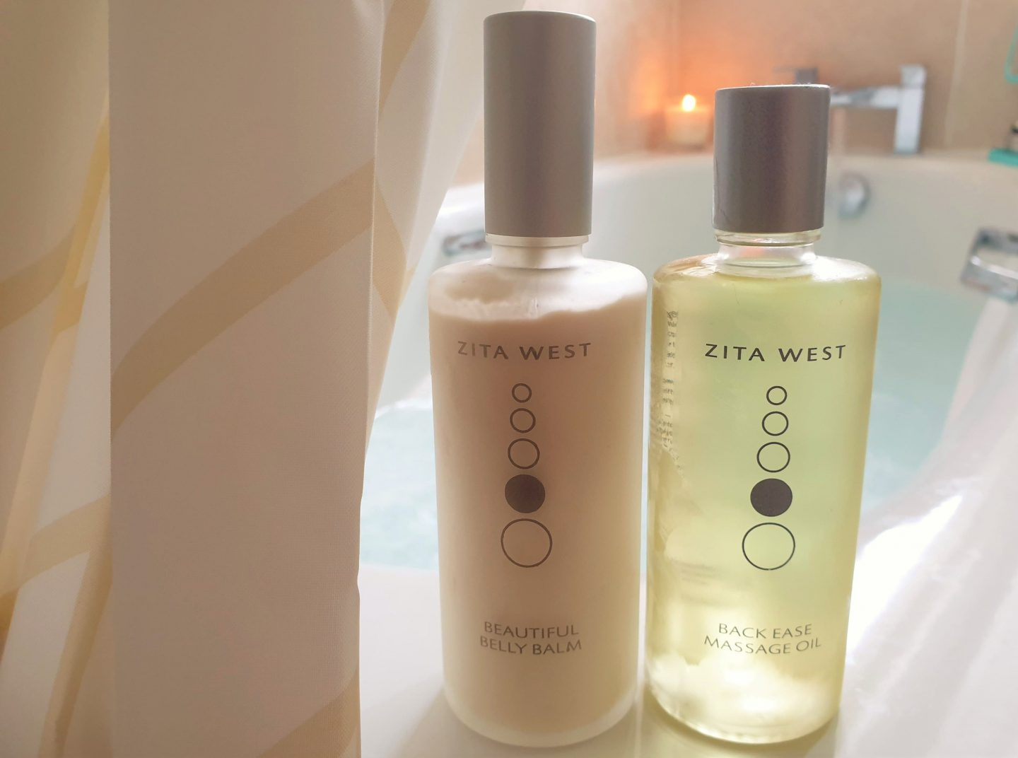 Zita West bump cream and massage oil