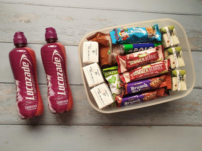 Snacks for hospital bag