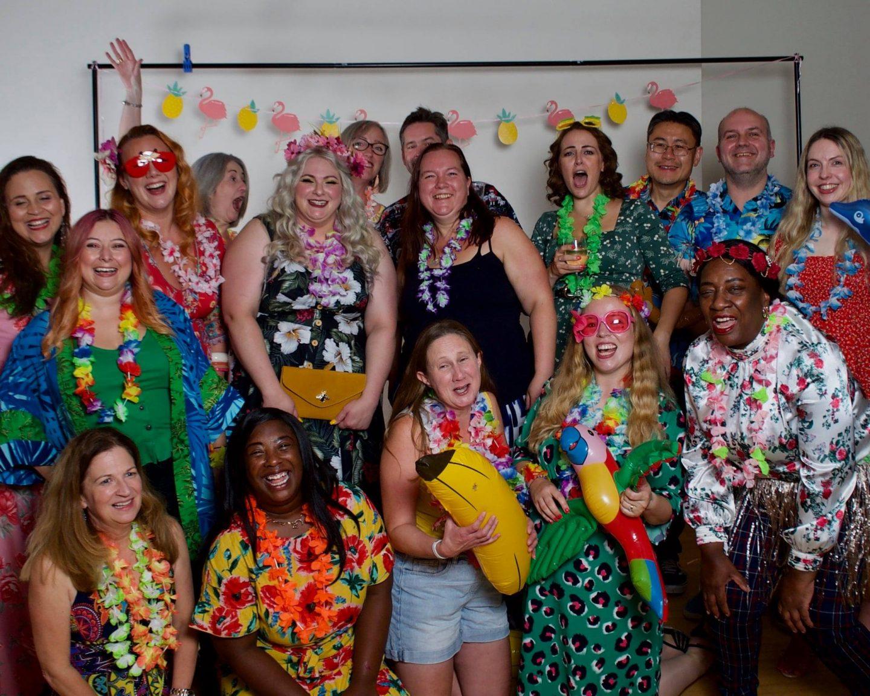 Hawaiian party, BlogOn 2021
