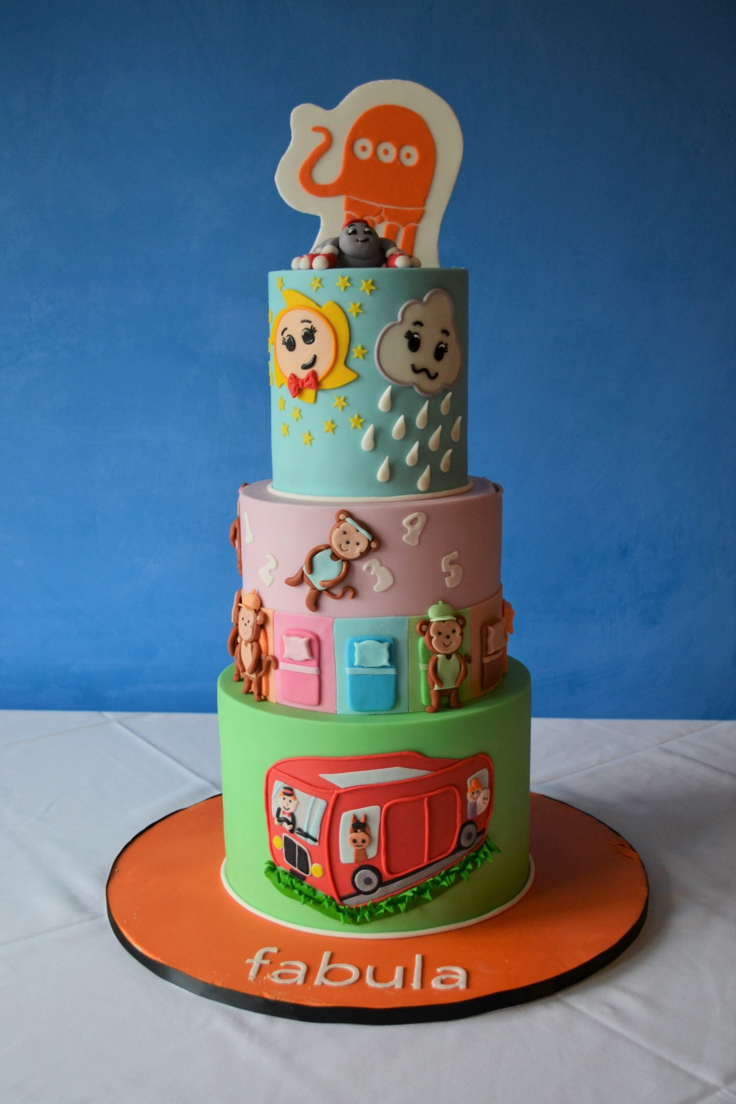 BlogOn 2021 Fabula Cake