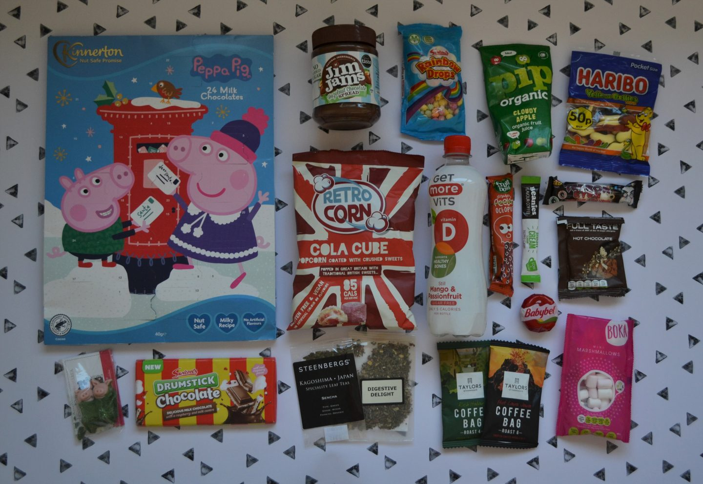Food and drink in BlogOn 2021 goody bag