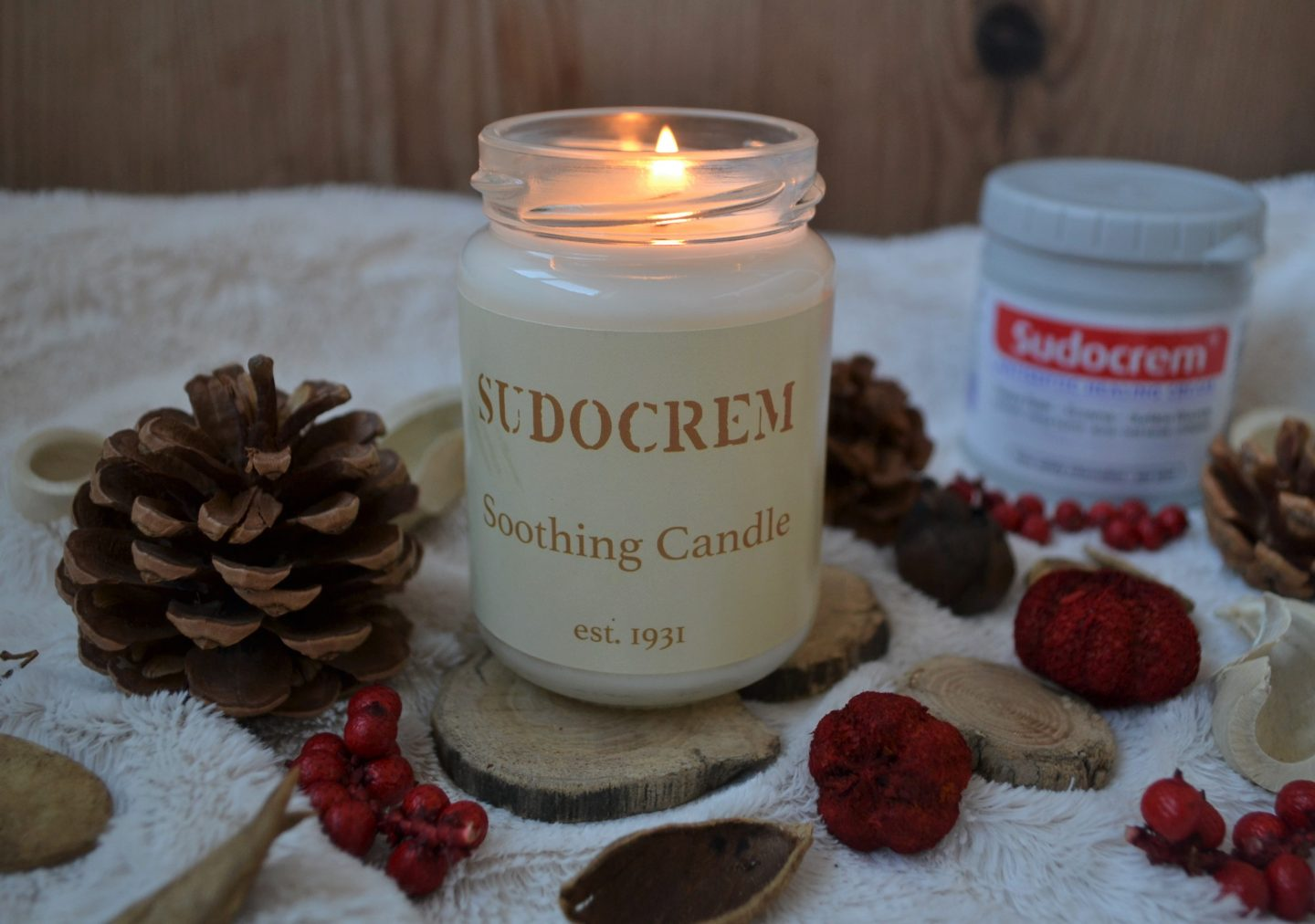Limited edition Sudocrem candle giveaway